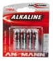 AN BATERIJE LR03 4/1 Alk.RED
