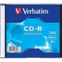 CD Verbatim Kristal Slim Box